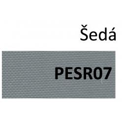 VÝPRODEJ 100% PES, barva šedá PES R07