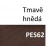 VÝPRODEJ 100% Polyester, 150x45cm, barva HNĚDÁ PES62, 420g