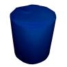 Taburet /  podnožka - válec BOOBAN temně modrý